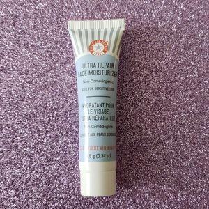 New Mini First Aid Beauty moisturizer